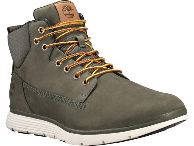 f5a8a2f87e94f5 Timberland Killington Chukka Shoes Men Dark Green Nubuck Wheat ...